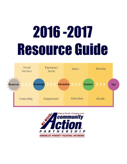 Resource Guide 2016